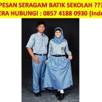 Jual 0857 4188 0930 (INDOSAT), Seragam Batik Sekolah, Seragam Batik Siswa Murah