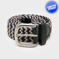 Ikat Pinggang Original Greenlight Cream Navy Knit Belt