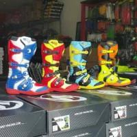 harga boots snd / sepatu cross / klx ktm crf yz kx motocross Tokopedia.com