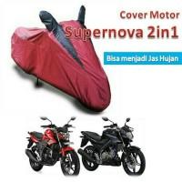 Cover | Mantel | Selimut | Sarung Motor (Sport/Ninja/Vixion) 2in1