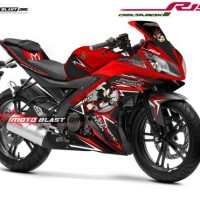 Decal Stiker Yamaha R15 RED SHADOWH HEDGEHOG MOTOBLAST 1