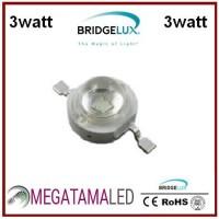 High Power LED 3W Bridgelux Royal Blue & Biru ( 435-445NM )