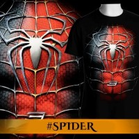Kaos pria/distro/pakaian/switer/tshirt 3d film hero spiderman