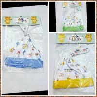 Topi bayi tali Libby murah meriah , perlengkapan bayi