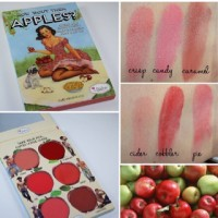 THE BALM HOW BOUT THEM APPLES CHEEK & LIP CREAM PALETTE