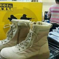 sepatu boots S.W.A.T / sepatu pdl gurun SWAT