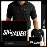 Kaos/ Baju Kerah/ Polo Shirt Sig Sauer