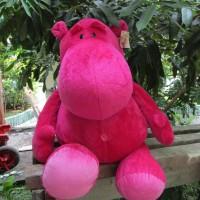 Boneka Hippo/Badak Lucu Original NICI Jerman uk. Jumbo, Lembut, HQ
