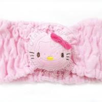 makeup / facial headband hello kitty pink