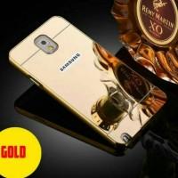 Bumper Samsung Galaxy Note 3 Bumper Slide Mirror Galaxy Note 3 Gold