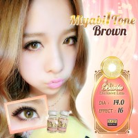 Softlens Barbie MIYABI 1 TONE / Soft Lens Barbie MIYABI ORIGINAL KOREA