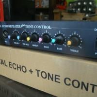 "DIGITAL ECHO REPEATER + TONE CONTROL ""DHB 413"" FULL KARAOKE"