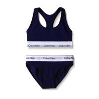 Calvin Klein Modern Bralette Brief Set 2 pcs (Blue Navy).
