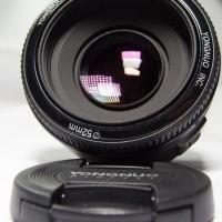 Lensa Yongnuo EF 50mm F1.8 for Canon EOS