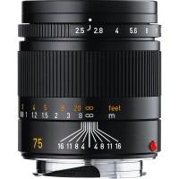 Lensa Leica Summarit-M Black 75mm F / 2.5