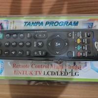 Jual Remote Tv Led Lcd Lg Multi Langsung Pakai Murah
