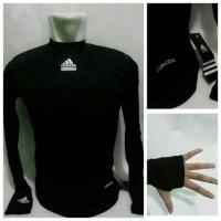 Baselayer Long Sleeve Thumbhole Puma Black - Jersey fitness Gym diving
