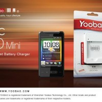 YOOBAO Intelligent Battery Charger for HTC HD Mini Original