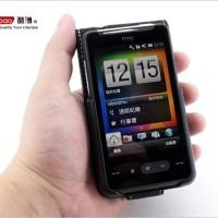 YOOBAO Genuine Leather Flip Case HTC HD Mini Original - Black