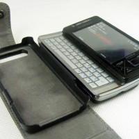 YOOBAO Genuine Leather Flip Case Sony Ericsson Xperia X1 Original