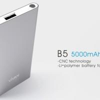 harga ViVAN Powerbank B5 5000mAh Original 1.5A Ultra Slim Design for iPhone6 Tokopedia.com