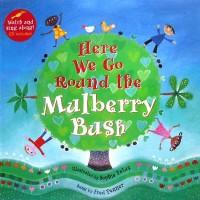 harga Here We Go Around the Mulberry Bush story book with music CD (audio & Tokopedia.com