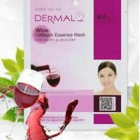 Masker Korea Dermal Wine Collagen Essence Mask
