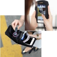 Premium Tas/Dompet/Case HP (Touch Purse) - Handphone Organizer Alona
