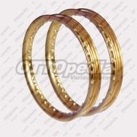 Velg - Pelek Rim - Ring - Jari jari TDR Tipe U 14-140 & 14-160 Gold