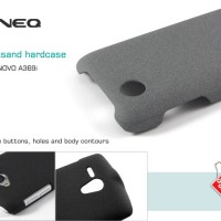 Lenovo A369 A369i Zineq Ultra Thin Quicksand Hard Case Hardcase