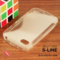 Blackberry Q10 Soft Gel Jelly Silicon Silikon TPU Case Softcase Clear