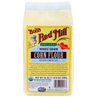 Bob's Red Mill Organic Whole Grain Corn Flour 680 Gr