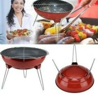 Maspion Mastro Grill / Alat Panggang Non Stick 38 Cm - Merah