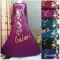 harga Abaya india bunga dada / gamis jersey india Tokopedia.com