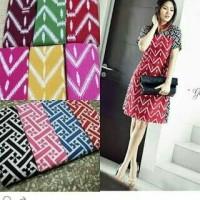 Dress Asmad Warna, Tanpa Kerut