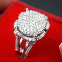 Cincin Wanita Fashion Berlian Eropa Tabur 0305 Ring Emas