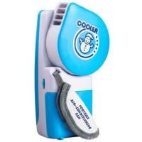 Handheld Mini Portable Air Conditioner USB Fan - Biru