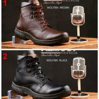 harga sepatu boot hitam/coklat cocok buat pengendara motor touring Tokopedia.com