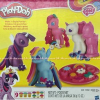 Play-doh My little pony dengan cetakan Playdoh original play dooh Ori