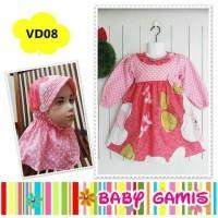 Gamis Baby Whitelily - VD 08