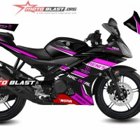 Decal Striping Yamaha R15 TECH3 PINK3