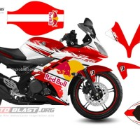Decal Yamaha R15 RedBull.03