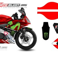 Decal Yamaha R15 RED MOVISTAR