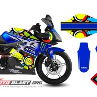 Decal Yamaha R15 SUN MOON GABRIEL