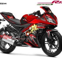 Decal Yamaha R15 RED SHADOWH HEDGEHOG MOTOBLAST.03