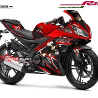 Decal Stiker Yamaha R15 RED SHADOWH HEDGEHOG MOTOBLAST.01