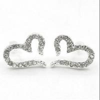 anting hati berlian / diamond hear earrings JAN014