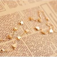 gelang emas bintang hati/star of love and peach Heart Bracelet JGE010