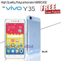 HARDCASE VIVO Y35 : High Quality Translucent Polycarbonate (+ FREE SP)