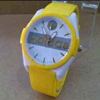 jam tangan adidas cewek. wanita. warna kuning